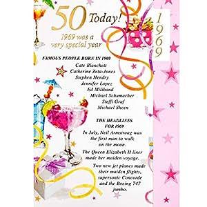Anniversaire 50 Ans Femme