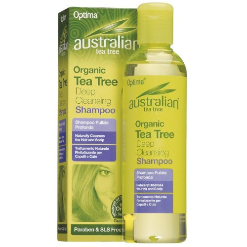 Australian Tea Tree Deep Cleansing Shamp 250ml
