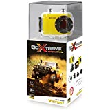 GoXtreme 20109Victory HD Action Camera with Waterproof (5cm (2Zoll) Display, 1.3Mega Pixels CMOS Sensor 720P, MicroSD Card Slot, USB, Li-Ion Battery), Yellow