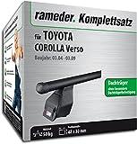 Rameder Komplettsatz, Dachträger Tema für Toyota Corolla Verso (118824-05127-1)
