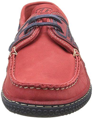 TBS Globek, Chaussures Bateau Hommes Rouge (Rouge/Encre)
