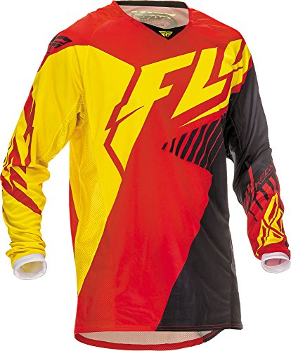 Fly Racing Jersey Kinetic Vector Rot Gr. S (Fly Racing Kinetic Damen-trikots)