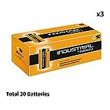 30 x C Duracell Industrial MN1400 LR14 Mezza Alkaline Battery Radio Torch Procel