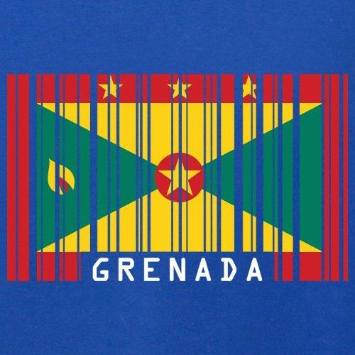 Grenada Barcode Flagge - Herren T-Shirt - 13 Farben Royalblau