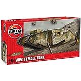 Airfix A02337 WWI 'Female' Tank 1:76 Scale Series 2 Plastic Model Kit