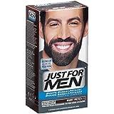 JUST FOR MEN Colorante en gel bigote barba y patillas, castaño negro claro - 15 ml