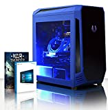Vibox Warrior 4.29 Gaming PC Computer with 2 Free Games, Windows 10 Pro OS (3.7GHz AMD Ryzen Quad-Core Processor, Nvidia GeForce GTX 1050 Ti Graphics Card, 32GB DDR4 2400MHz RAM, 120GB SSD, 3TB HDD)