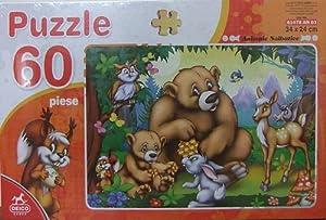D-Toys - Rompecabezas, 60 Piezas (DT61478-AN03)