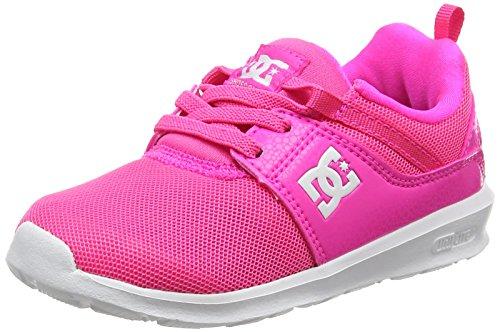 DC Shoes Mädchen Heathrow Sneaker, Pink (Pink), 27 EU (Dc Shoes Mädchen)