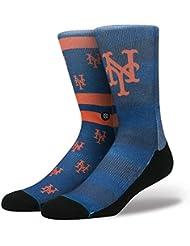 Stance MLB New York Mets Splatter Chaussettes Bleu Marine