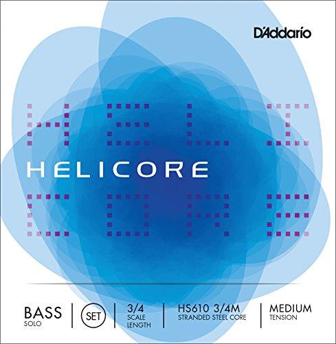 daddario-orchestral-hs610-3-4m-juego-de-cuerdas-para-contrabajo-3-4-tensin-medio