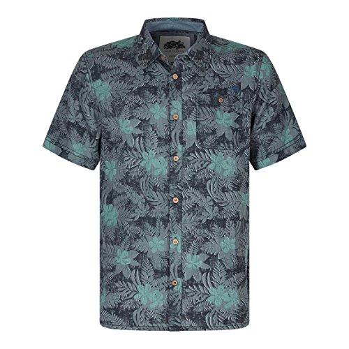 Weird-Fish-Render-Hawaiian-Short-Sleeve-Shirt