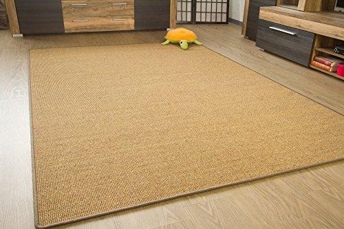 *Sisal Teppich Acapulco – gekettelter Sisalteppich aus 100% Sisal in 2 Farben, Größe: 160×230 cm*