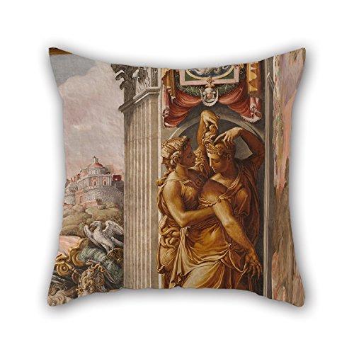 uloveme fundas de almohada de pintura al óleo Francesco Salviati–tiempo como de...