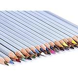 Yiyu Crayon Aquarellables Crayon de Couleur Professionnel Crayons Professionnel Couleurs Coloré Crayons Crayons de Coloriage Jardin Secret 36 Couleurs