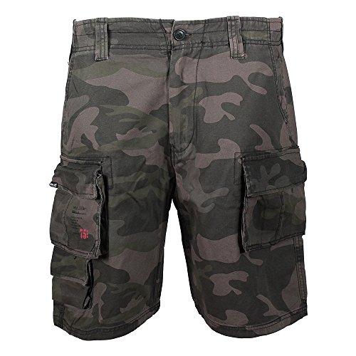 Army Jeans (Surplus Herren Shorts Gr. Large, Mehrfarbig - Multicoloured - Blackcamo)