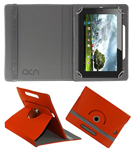 Acm Rotating 360° Leather Flip Case for Zync Z99 Cover Stand Orange  available at amazon for Rs.149