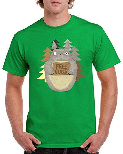 Camisetas La Colmena Herren T-Shirt grün grün Irisches Grün