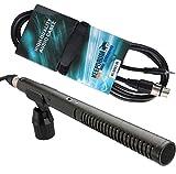 Rode NTG 2microfono direzionale NTG2microfono + MC 008X J 3m cavo per microfono XLR-Jack da 3,5mm