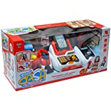 Higadget Cash Register Toy Supermarket Pretend Play Set With Lights And Sound For Realistic Feel Of Machines