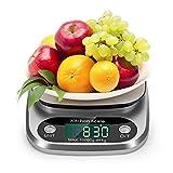 Küchenwaage, Digital Küche Waage 10kg / 1g Elektronische Waage, Tara-Funktion, mit Großem LCD-Display, (Batterie Inbegriffen)