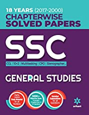 SSC Chapterwise Solved Papers General Studies 2018