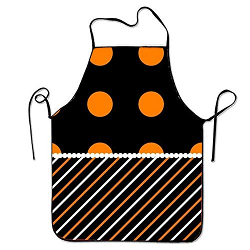 loween Style Aprons Printed Apron for Restaurant Server Crafting ()