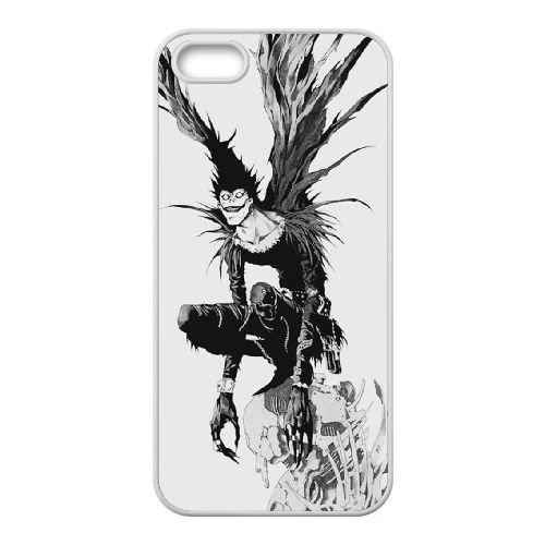 Death Note coque iPhone 4 4S Housse Blanc téléphone portable couverture de cas coque EBDXJKNBO11487