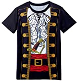 Funny World Piraten Kostüm T-Shirts Herren (XL)