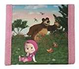 Kinder Geldbörse/Geldbeutel / Portemonnaie/Brieftasche Masha und der Bär tolles Geschenk