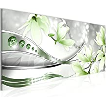 Bilder Blumen Magnolien Wandbild 100 X 40 Cm Vlies   Leinwand Bild XXL  Format Wandbilder Wohnzimmer