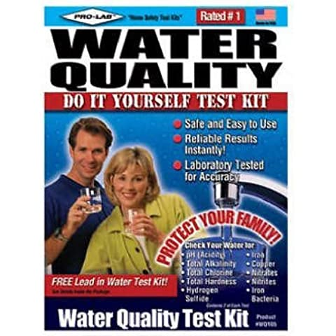 Kit de prueba de calidad del agua (6unidades)