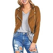 Tongshi La chaqueta de cuero de la cremallera atractiva de las mujeres delgados del invierno motorista de la motocicleta