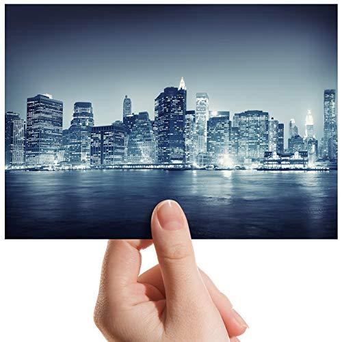 Fotodruck Nr. 8919 New York City NYC Buildings Urban - kleines Foto, 15,2 x 10,2 cm - Nyc Kleines Poster
