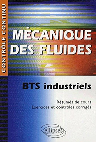 Mécanique des fluides : BTS industriels