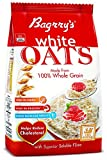 Bagrry's White Oats, 1kg with Free White Oats, 200g (Worth Rupees 45)