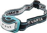 Sports Outdoors Best Deals - Varta Outdoor Sports 4x LED - Linterna frontal en plástico ABS y goma, 16630 m