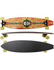 "MAXOfit Deluxe Longboard ""Hell Fire No.08"", 106 cm , 9 couches d érable, (or-19008)"