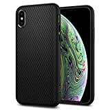 Spigen, Coque Compatible avec iPhone XS et X [Liquid Air] Souple et Slim Profile,...