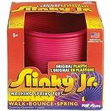 POOF-Slinky - Plastic Original Slinky Jr. in Box, Single Item, Assorted Colors, 115 by Slinky