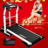 Laufbänder Faltende Maschine Tilt Fitness Multi-Funktions-Gewichtsverlust Aerobic Walking (Color : Black, Size : 115x52x110cm) - 4