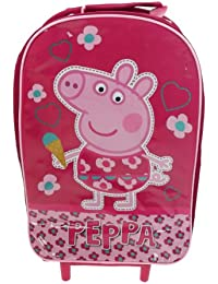 Sac Voyage À Roulettes Rose Peppa Pig Marelle Valise Ocasionelle