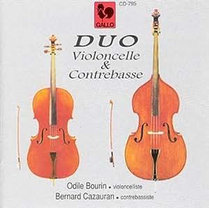 Duo Violoncelle Et Contrebasse [Import allemand]