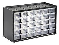 STANLEY 1-93-980 - Caja de Almacenamiento para Piezas pequeñas con 30 ca...