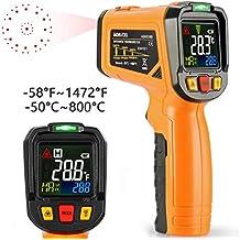 AIDBUCKS Termómetro Digital AD6530B Termómetros infrarrojos Rango de temperatura -50 ℃ ~ 800 ℃ Colores