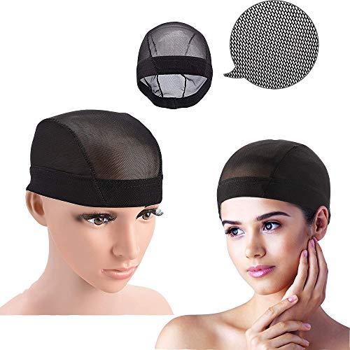 Unisex Stocking Wig Liner Cap Nylon Stretch Breathable Mesh Hat