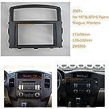autostereo 08–005Radio para radio de coche panel Shogun–Adaptador para Mitsubishi Pajero Montero 2007Radio de coche Borde de instalación de radio