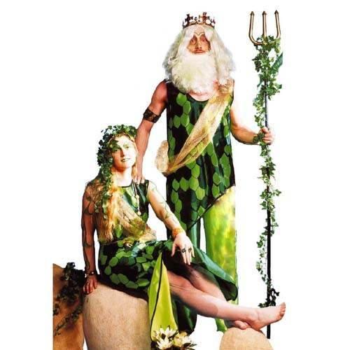 Damen Kostüm Nixe Meerjungfrau Gr. 48 (Meerjungfrau Damen Kostüme)