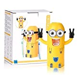 Toothbrush Holder Automatic Toothpaste Dispenser Minions Design Set Double Eyes by ShopoChic.com