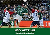 Handball Bundesliga - HSG Wetzlar (Wandkalender 2017 DIN A4 quer): Kalender der HSG Wetzlar mit aktuellen Bildern aus der Handball Bundesliga (Monatskalender, 14 Seiten ) (CALVENDO Sport)